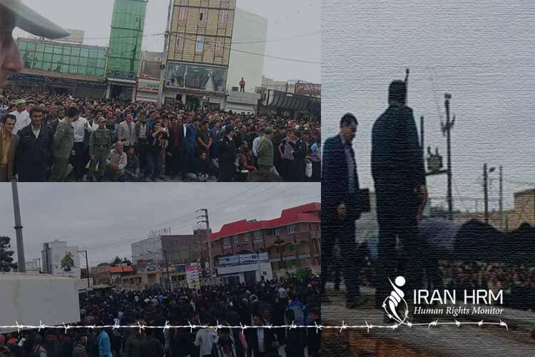 اجرای حكم ۳۱۴ضربه شلاق در ملاعام برای سه زندانی در دهدشت