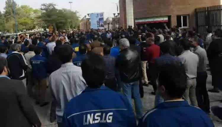 کارگران بازداشت شده گروه ملی فولاد اهواز