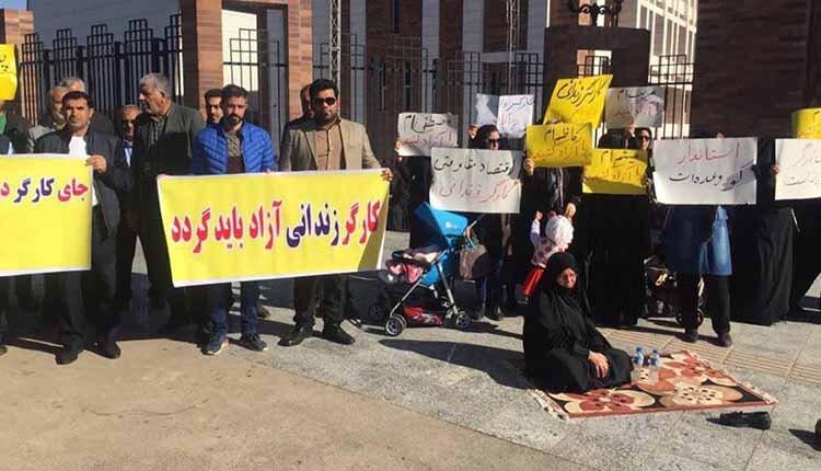 تداوم بازداشت هفت تن از کارگران گروه ملی فولاد اهواز