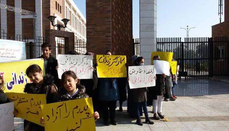 کارگران بازداشت شده فولاد اهواز