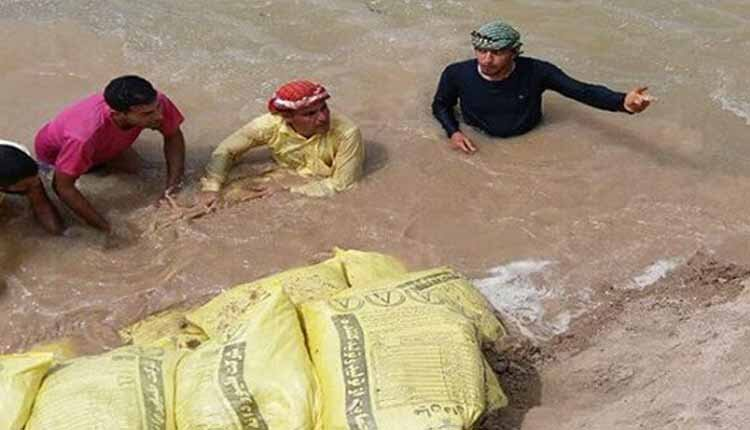 بازداشت کمک رسانی سیلزدگان
