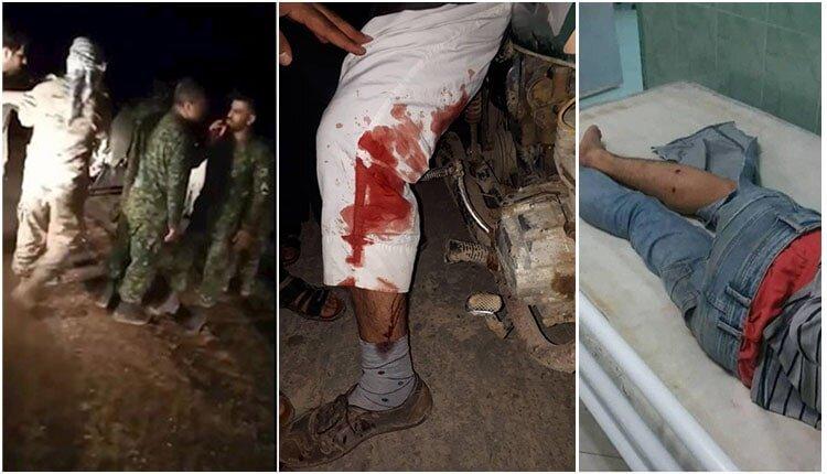 یورش سپاه پاسداران مناطق سیلزده دشت آزادگان