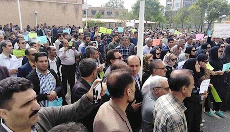 بازداشت معلمان و فرهنگیان روز معلم