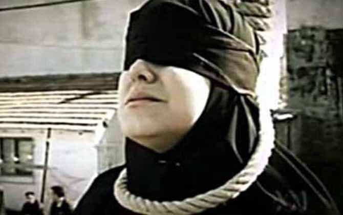 اعدام یک زن در زندان مرکزی مشهد