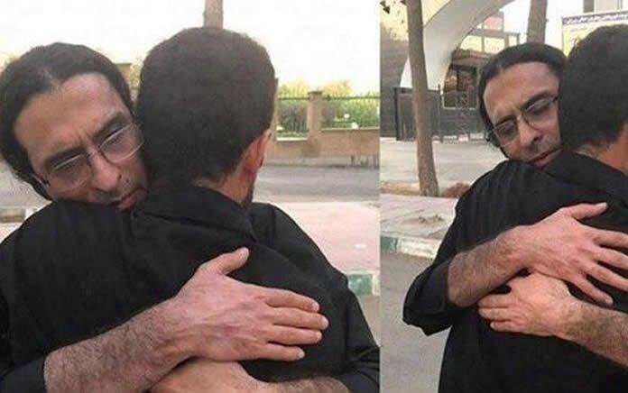 مرخصی سعید شیرزاد از زندان رجایی شهر کرج برای اولین بار
