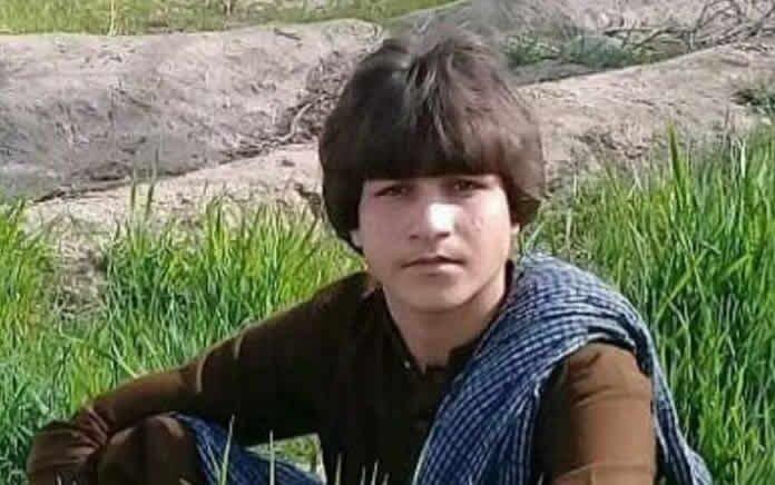 قتل یک نوجوان سوختبر بلوچ توسط ماموران کلانتری سراوان