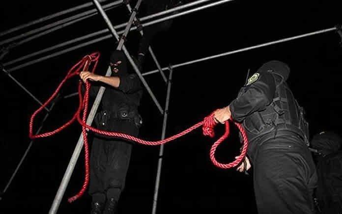 اجرای حکم اعدام یک زندانی در زندان رشت