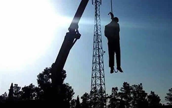 اعدام در ملاءعام در شهرستان خمین