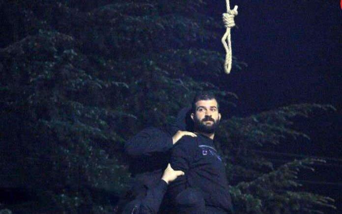 اعدام یک زندانی در ملاءعام در پارک دانشجوی رشت
